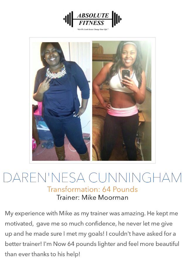 Success Stories - Absolute Fitness Personal Training